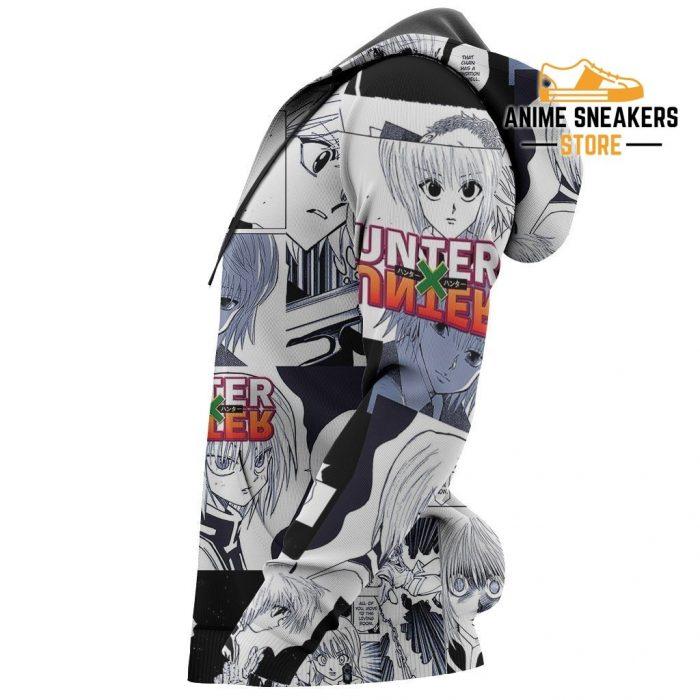 Kurapika Hunter X Shirt Sweater Hxh Anime Hoodie Manga Jacket All Over Printed Shirts