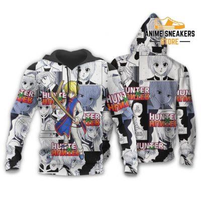 Kurapika Hunter X Shirt Sweater Hxh Anime Hoodie Manga Jacket / S All Over Printed Shirts