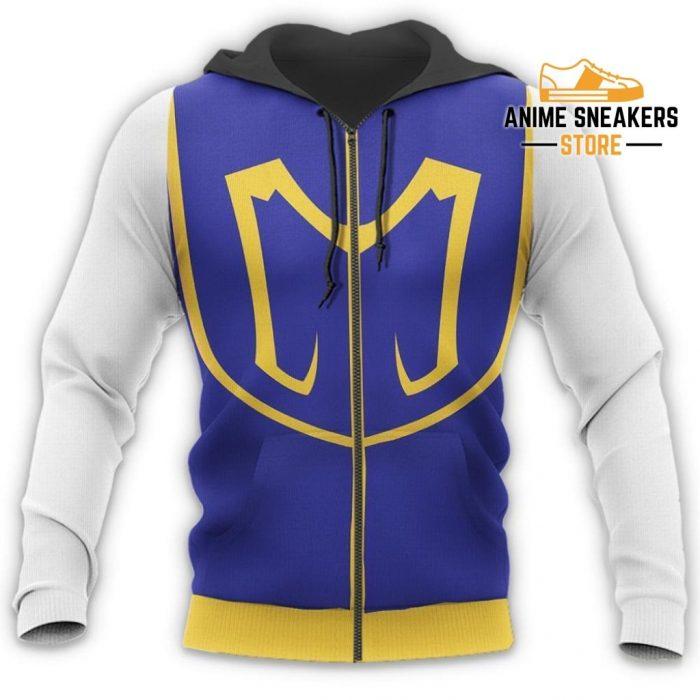 Kurapika Hunter X Uniform Shirt Hxh Anime Hoodie Jacket All Over Printed Shirts