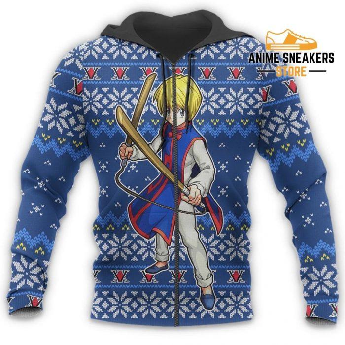Kurapika Ugly Christmas Sweater Hunter X Anime Xmas Gift Custom Clothes All Over Printed Shirts
