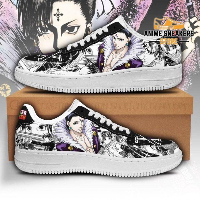 Kuroro Lucifer Sneakers Custom Hunter X Anime Shoes Fan Pt05 Men / Us6.5 Air Force