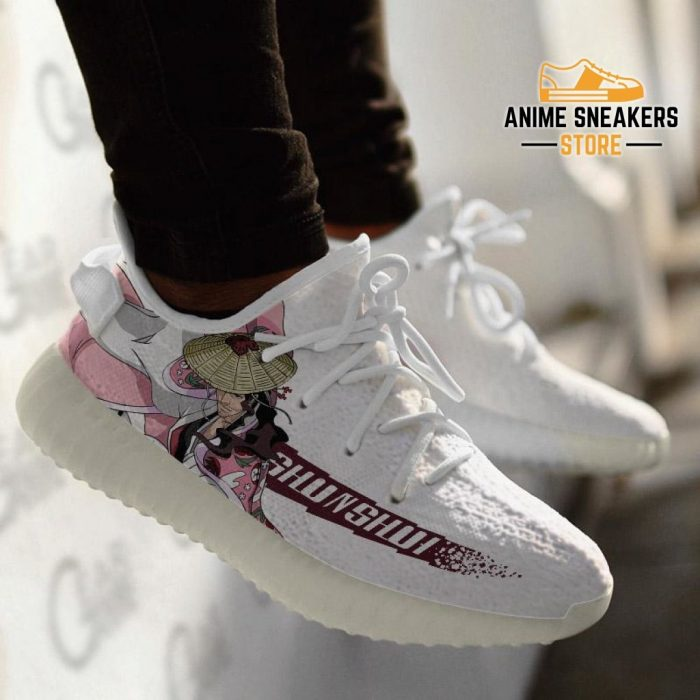 Kyoraku Shunsui Shoes Bleach Custom Anime Sneakers Yeezy