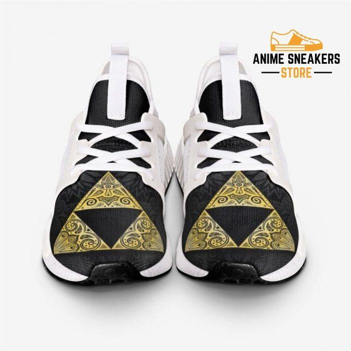 Legend Of Zelda Triforcelogy Custom Nomad Shoes Mens