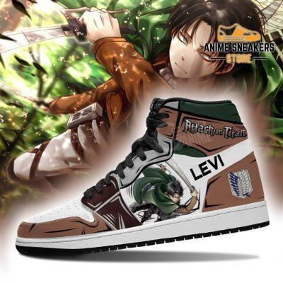 Levi Ackerman Sneakers Attack On Titan Anime Jd