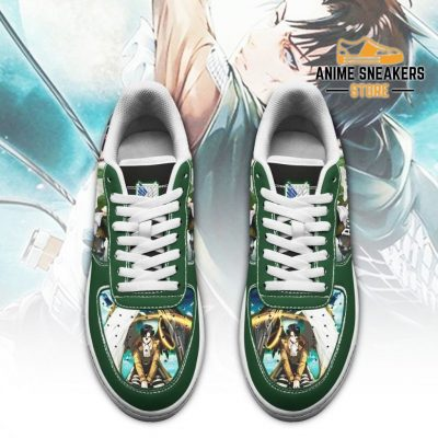Levi Ackerman Attack On Titan Sneakers Aot Anime Shoes Air Force