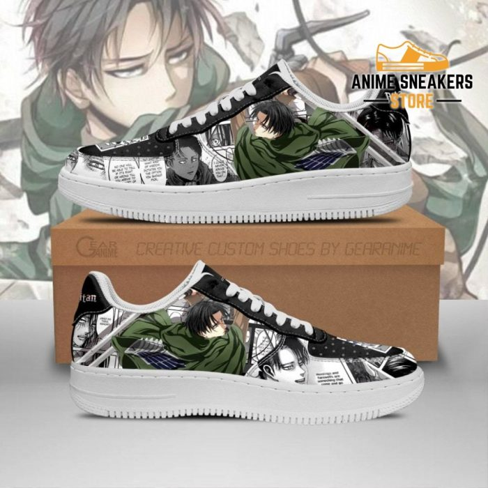 Aot Levi Sneakers Attack On Titan Anime Shoes Mixed Manga Men / Us6.5 Air Force