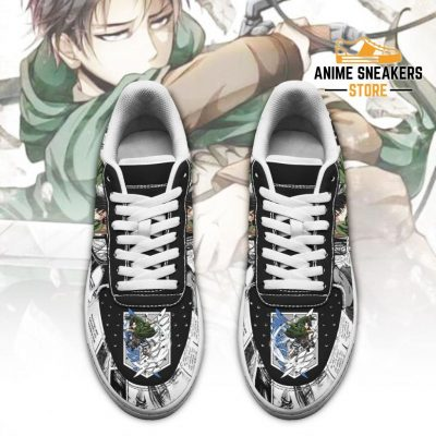 Aot Levi Sneakers Attack On Titan Anime Shoes Mixed Manga Air Force