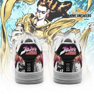 Lisa Sneakers Manga Style Jojos Anime Shoes Fan Gift Pt06 Air Force
