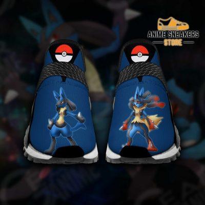 Lucario Shoes Pokemon Custom Anime Tt11 Men / Us6 Nmd