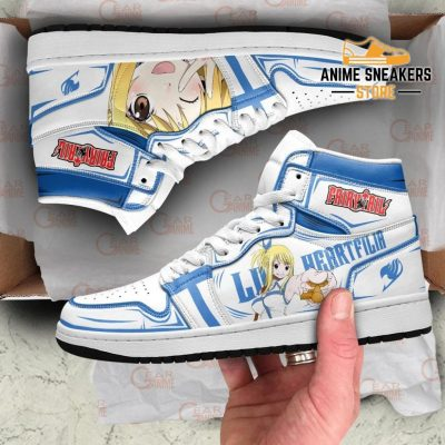 Lucy Heartfilia Sneakers Fairy Tail Anime Shoes Mn11 Jd
