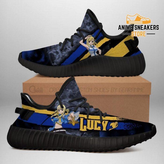 Lucy Yeezy Shoes Custom Fairy Tail Anime Sneakers Fan Gift Idea Tt05 Men / Us6