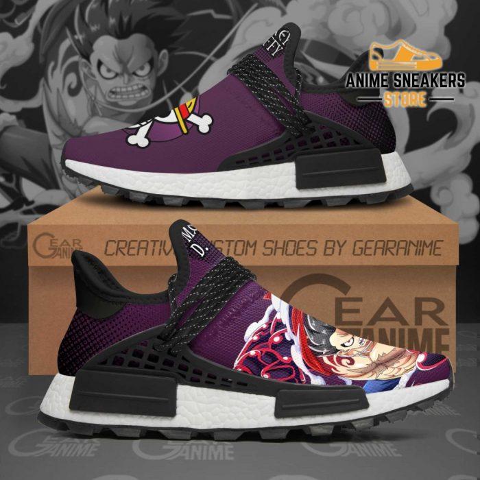Luffy Gear Fourth Shoes One Piece Custom Anime Tt11 Nmd