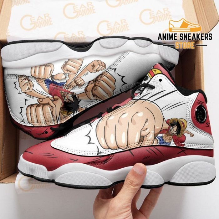 Luffy Gomu Sneakers One Piece Anime Shoes Jd13
