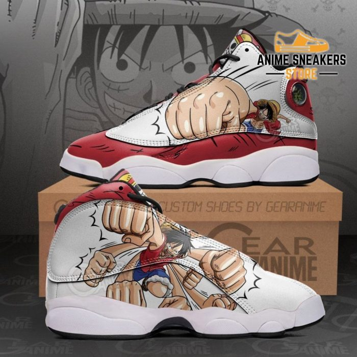 Luffy Gomu Sneakers One Piece Anime Shoes Men / Us6 Jd13