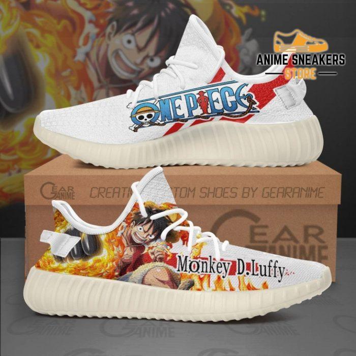 Luffy Shoes Skill One Piece Custom Anime Tt10 Men / Us6 Yeezy