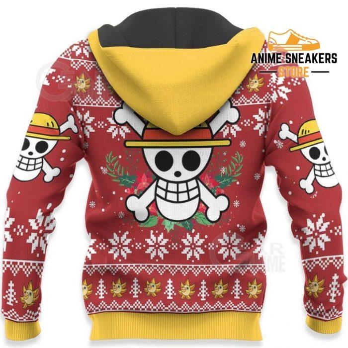 Luffy Ugly Christmas Sweater One Piece Anime Xmas Shirt Va10 All Over Printed Shirts