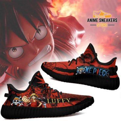 Luffy Yeezy Shoes One Piece Anime Fan Gift Tt04