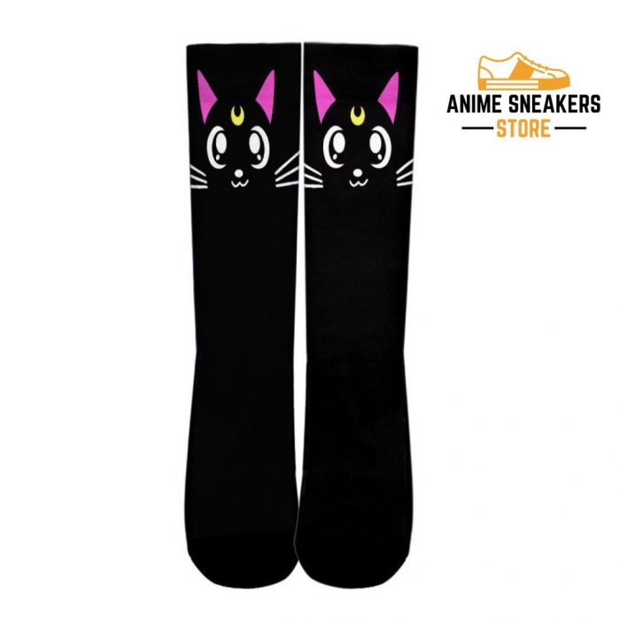 Luna Cat Socks Sailor Moon Uniform Anime