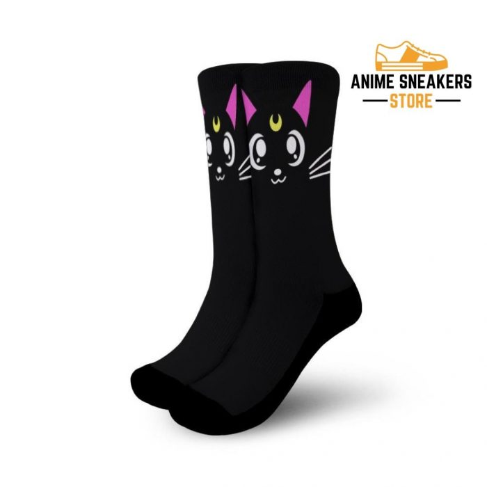 Luna Cat Socks Sailor Moon Uniform Anime Small
