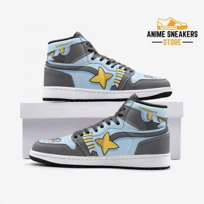 Luxray Pokémon Custom J-Force Shoes 3 / White Mens