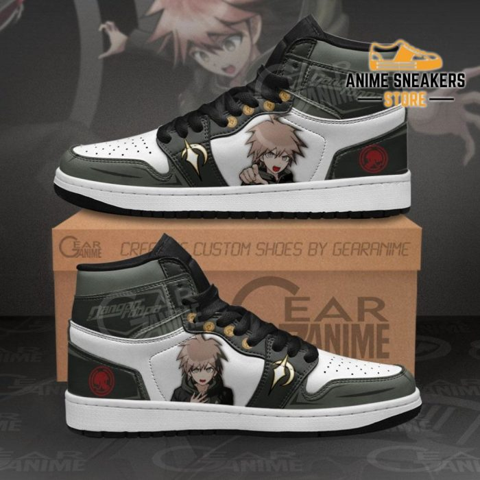 Makoto Naegi Sneakers Danganronpa Custom Anime Shoes Men / Us6.5 Jd