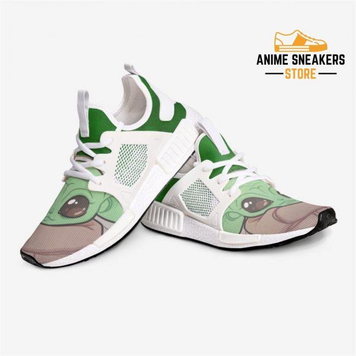 Mandalorian Baby Yoday Custom Nomad Shoes Mens