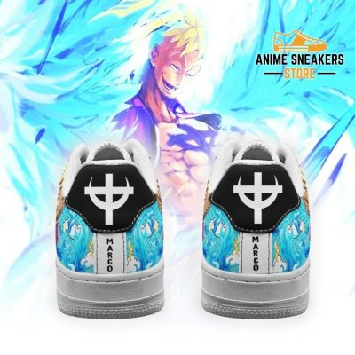 Marco Sneakers Custom One Piece Anime Shoes Fan Pt04 Air Force