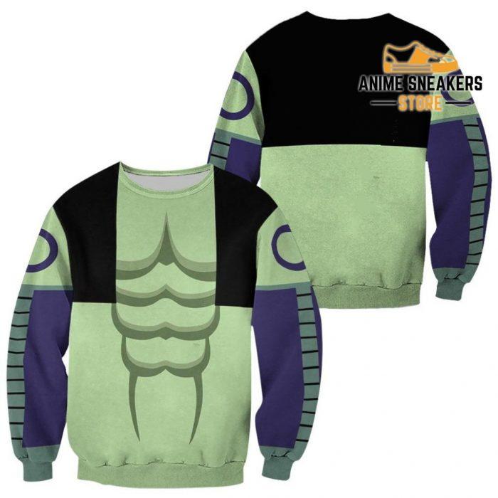 Meruem Hunter X Uniform Shirt Hxh Anime Hoodie Jacket Sweater / S All Over Printed Shirts