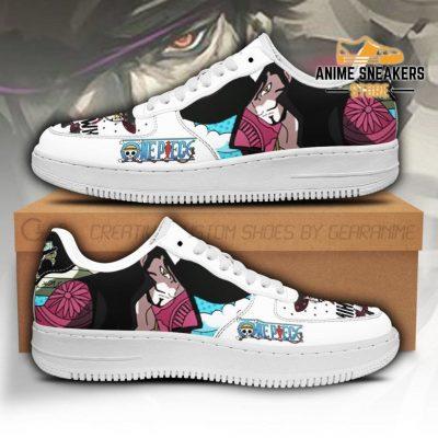 Mihawk Sneakers Custom One Piece Anime Shoes Fan Pt04 Men / Us6.5 Air Force