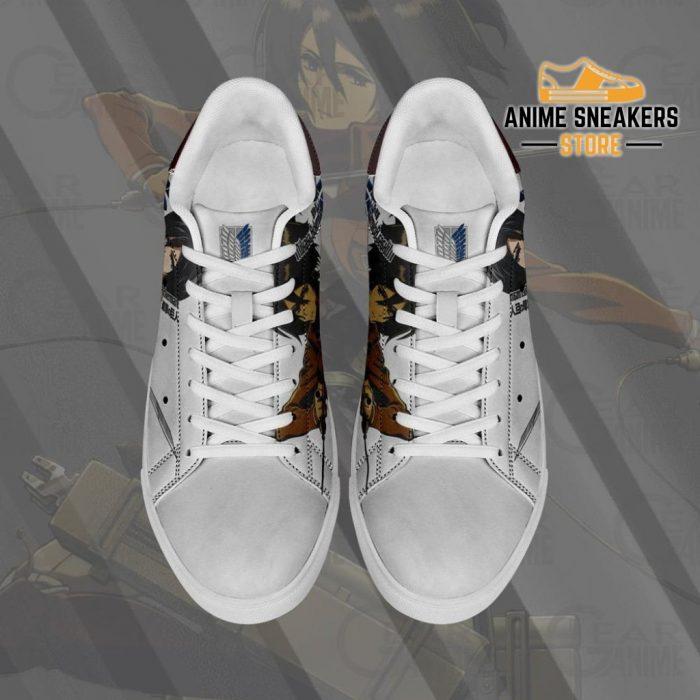 Mikasa Ackerman Skate Sneakers Attack On Titan Anime Shoes Pn10