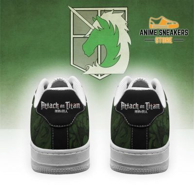 Aot Military Police Sneakers Attack On Titan Anime Shoes Air Force
