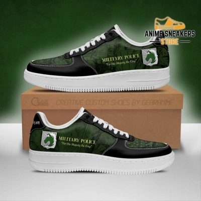 Aot Military Slogan Sneakers Attack On Titan Anime Shoes Men / Us6.5 Air Force