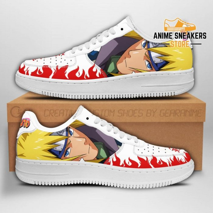 Minato Sneakers Naruto Anime Shoes Fan Gift Pt04 Men / Us6.5 Air Force