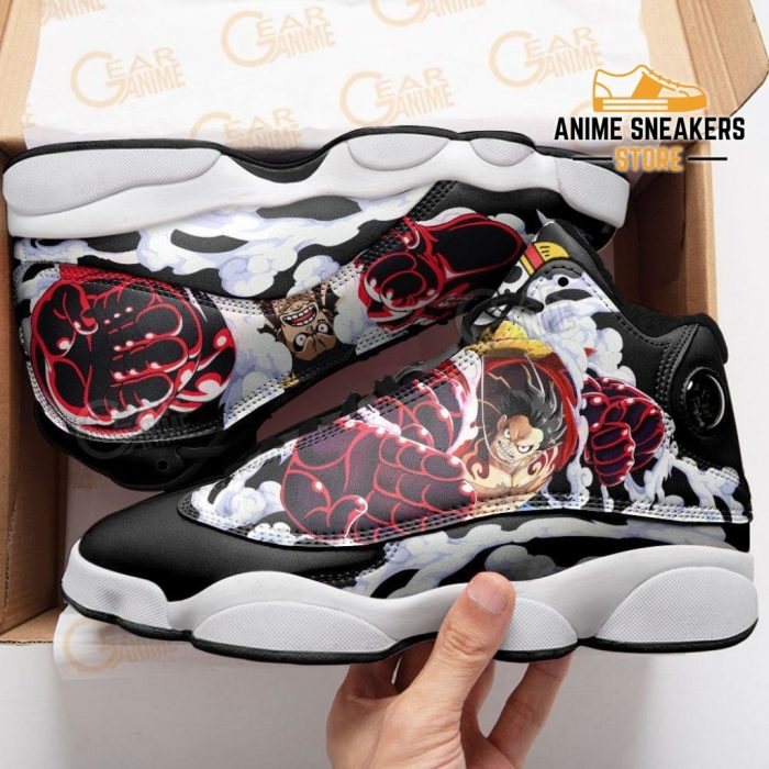 Monkey D Luffy Gear 4 Sneakers One Piece Anime Shoes Jd13