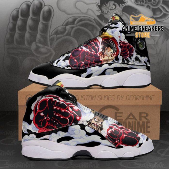 Monkey D Luffy Gear 4 Sneakers One Piece Anime Shoes Men / Us6 Jd13