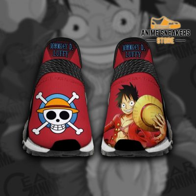 Monkey D Luffy Shoes One Piece Custom Anime Tt11 Men / Us6 Nmd
