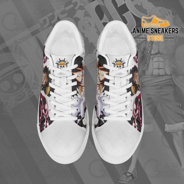 Monkey D Luffy Skate Shoes One Piece Custom Anime