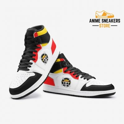 Monkey D Luffy Straw Hat Pirates One Piece Custom J-Force Shoes Mens