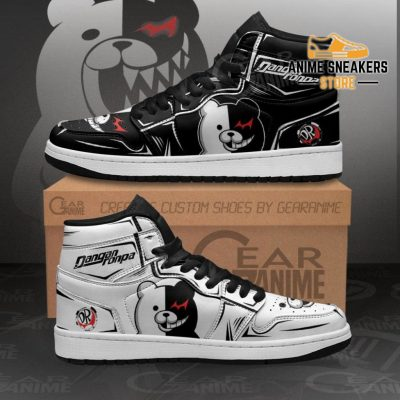 Monokuma Sneakers Danganronpa Custom Anime Shoes Men / Us6.5 Jd