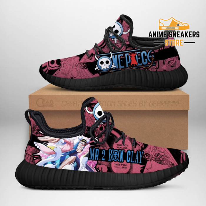 Mr 2 Bon Clay Reze Shoes One Piece Anime Fan Gift Idea Tt04 Men / Us6