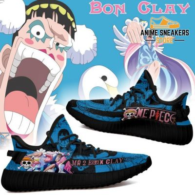 Mr 2 Bon Clay Yeezy Shoes One Piece Anime Fan Gift Tt04