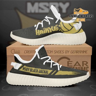 Msby Black Jackal Shoes Haikyuu Anime Sneakers Tt11 Men / Us6 Yeezy