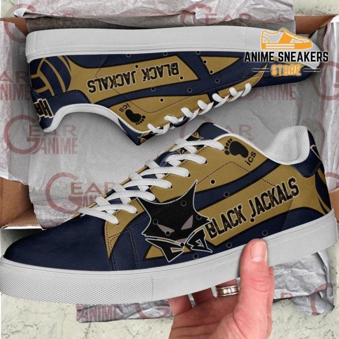 Msby Black Jackal Skate Shoes Haikyuu Anime Custom Pn10