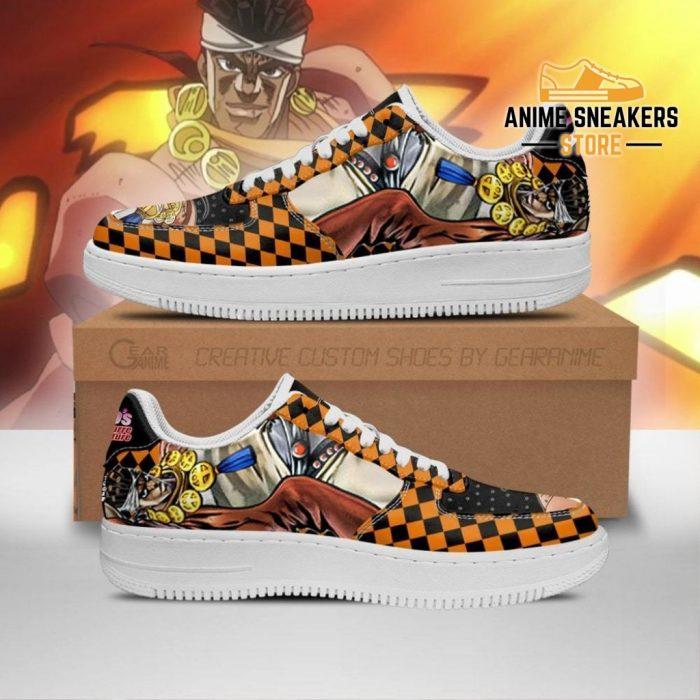 Muhammad Avdol Sneakers Jojo Anime Shoes Fan Gift Idea Pt06 Men / Us6.5 Air Force