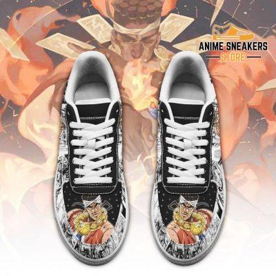 Muhammad Avdol Sneakers Manga Style Jojos Anime Shoes Fan Gift Pt06 Air Force