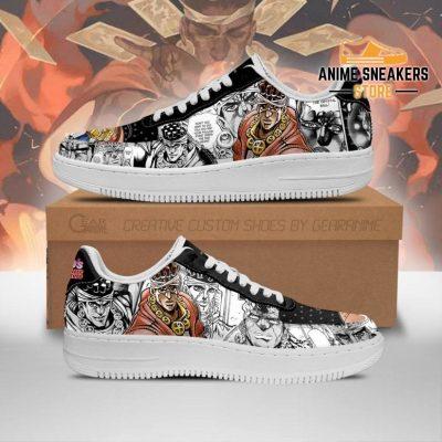 Muhammad Avdol Sneakers Manga Style Jojos Anime Shoes Fan Gift Pt06 Men / Us6.5 Air Force