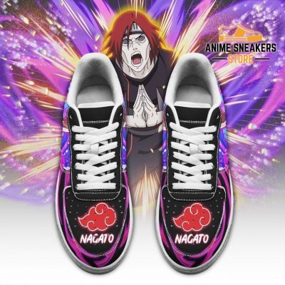 Nagato Sneakers Custom Naruto Anime Shoes Leather Air Force