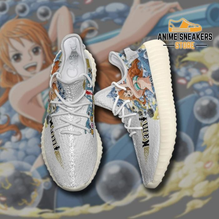Nami Shoes One Piece Custom Anime Sneakers Tt10 Yeezy