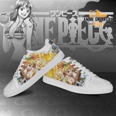 Nami Skate Shoes One Piece Custom Anime