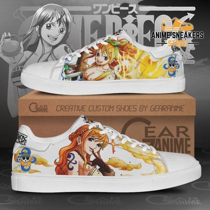 Nami Skate Shoes One Piece Custom Anime Men / Us6